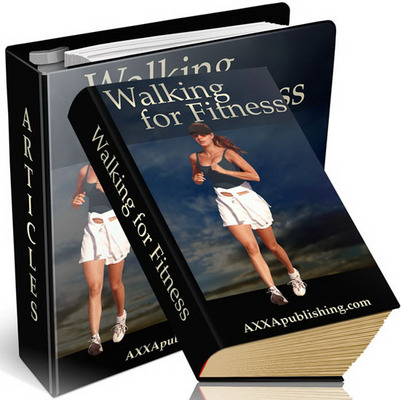 Product picture Walking For Fitness ebook with PLR