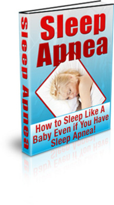 Product picture Sleep Apnea eBook with PLR